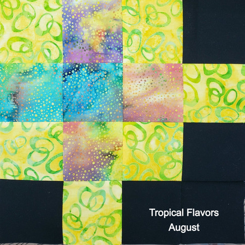 Tropical Flavors - August