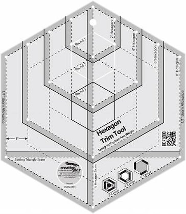 Creative Grid Hexagonal Trim Tool