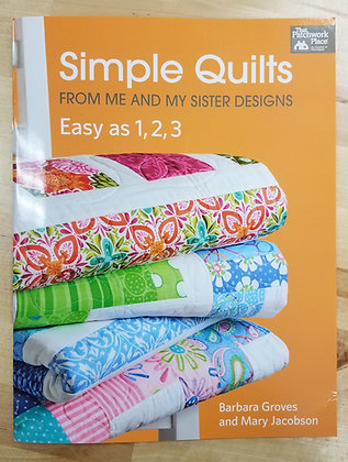 Simple Quilts: Easy as 1-2-3