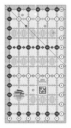 Creative Grids 6.5 x 12.5 inch Ruler