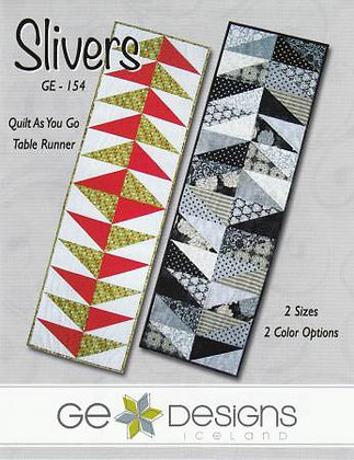Slivers Quilts As You Go Table Runner