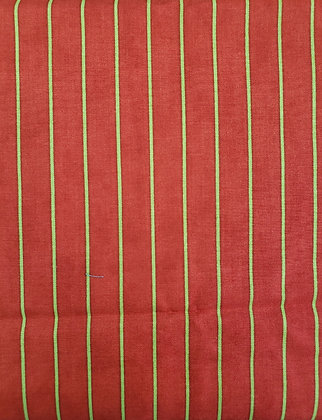 Holiday Stripes fabric by the yard