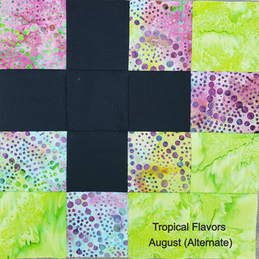 Tropical Flavors - August (Alternate)