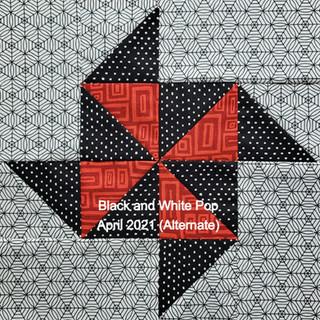 Black and White Pop April 2021 (alternate)