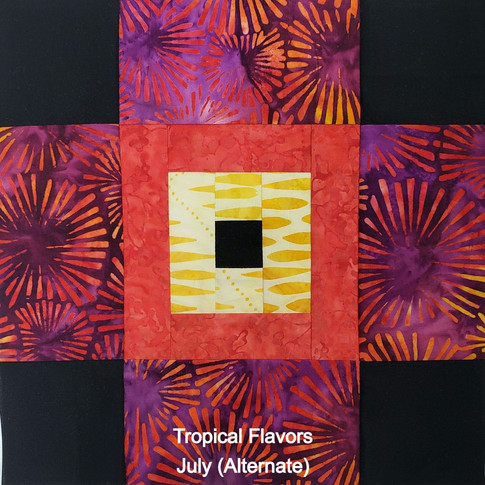 Tropical Flavors - July (Alternate)