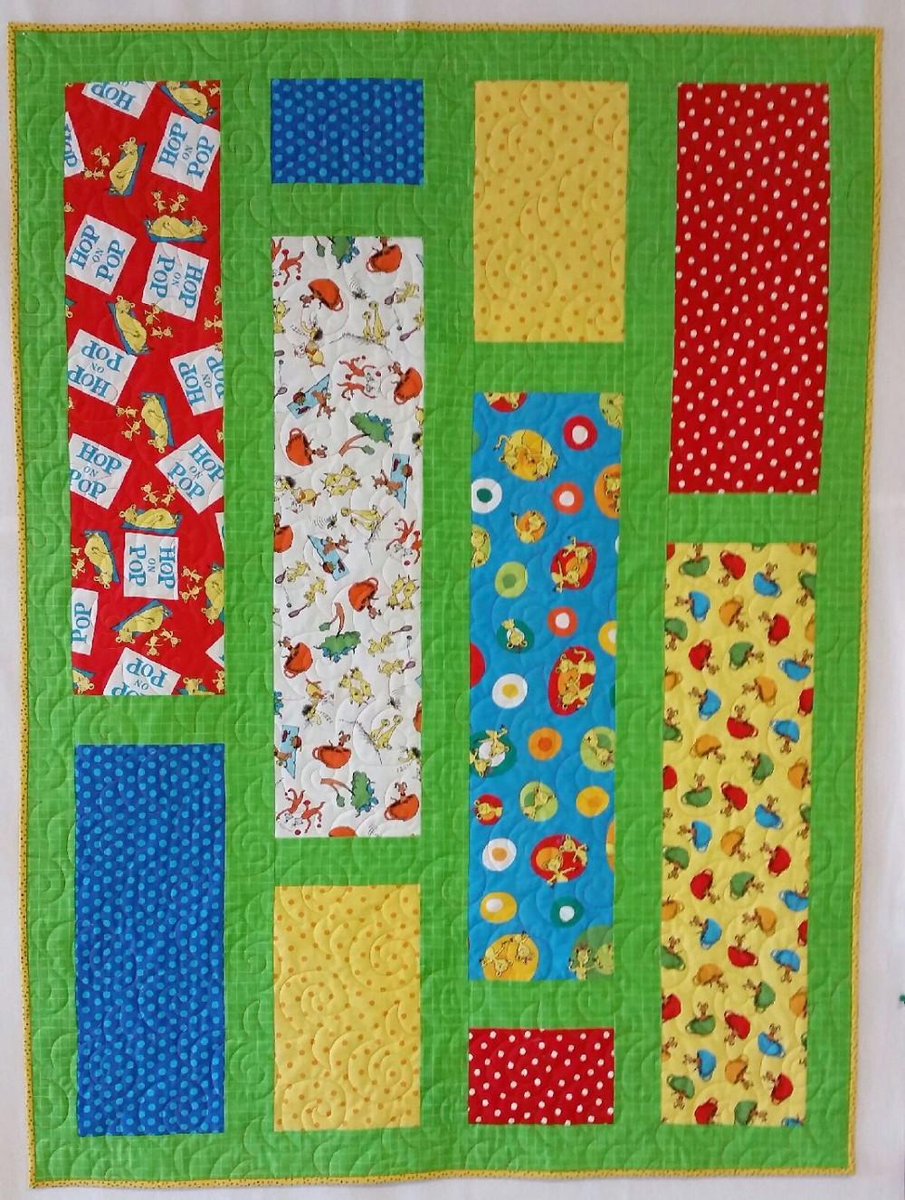 Finished Second Saturday Sampler quilt