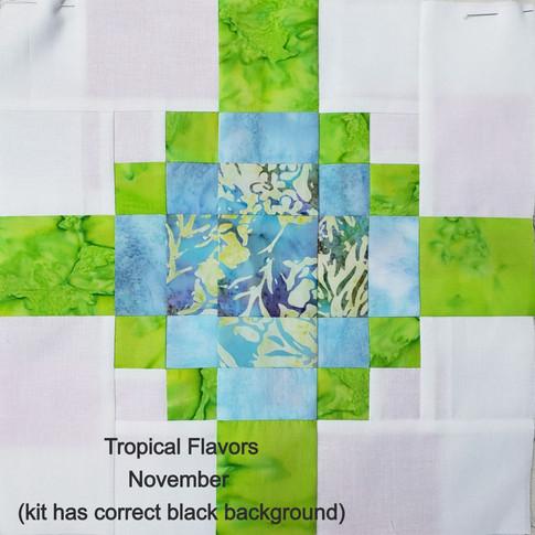 Tropical Flavors - November