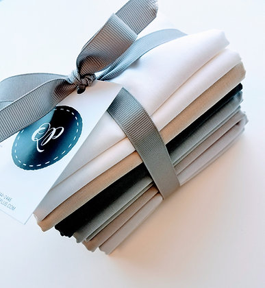 Neutral Solid Fabric Bundle