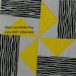 Black and White Pop June 2021 (Alternate)
