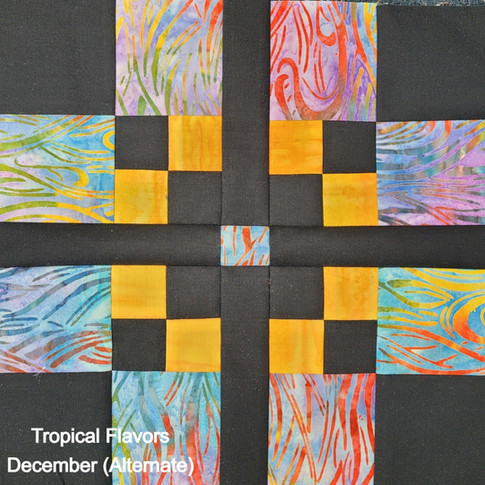 Tropical Flavors - December (Alternate)