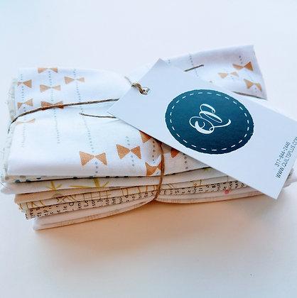 Low Volume Prints Fabric Bundle