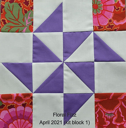 2021 Second Saturday Block 1- Floral Fizz