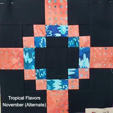 Tropical Flavors - November (Alternate)