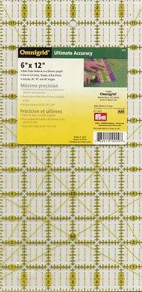 Omnigrid 6 x 12 inch Ruler