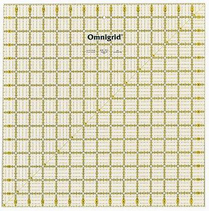 Omnigrid 15 inch square ruler