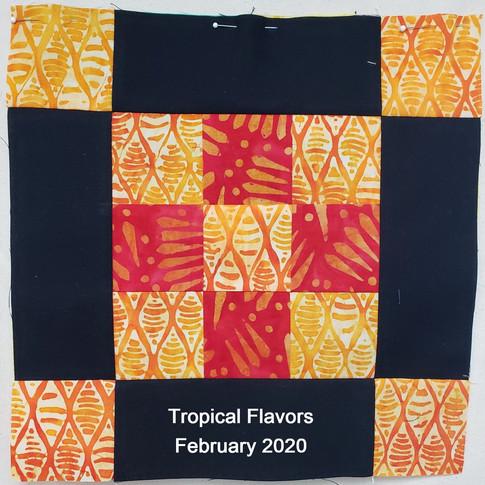 Tropical Flavors - February 2020