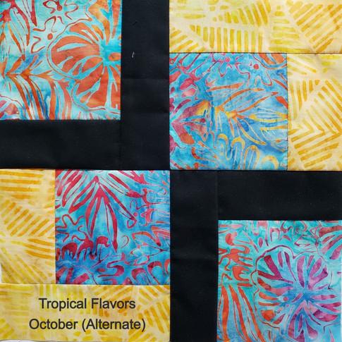 Tropical Flavors - October (Alternate)