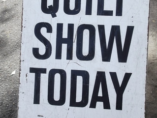 Quilt Show Season - Get the Most Out of Your Trip