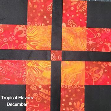 Tropical Flavors - December