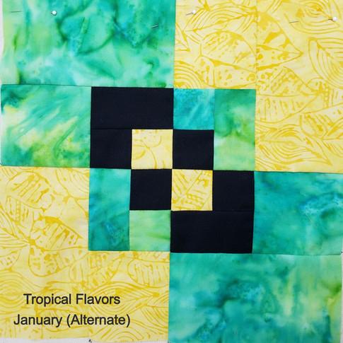 Tropical Flavors - January (Alternate)
