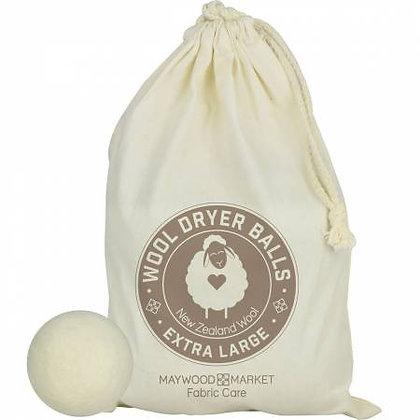Light Wool Laundry Balls - Set of 4
