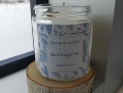 Bougie - Sans fragrance