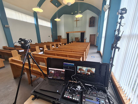 funeral live stream set up.jpg