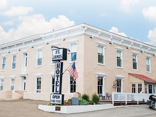 I love the American West and all that it stands for.....The Story of The St. James Hotel.