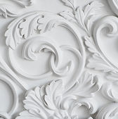 luxury-white-wall-design-bas-relief-with