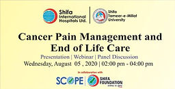 Cancer Pain Management and End of Life Care