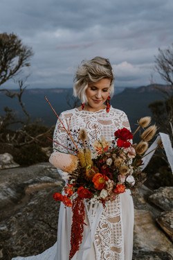 Amber & Emily Blue Mountains Elopement (