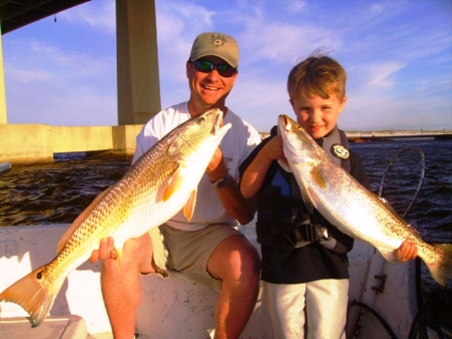 Alabama Inshore Back Bay Fishing