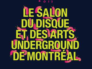 Salon du disque et des arts underground - édition 2017!