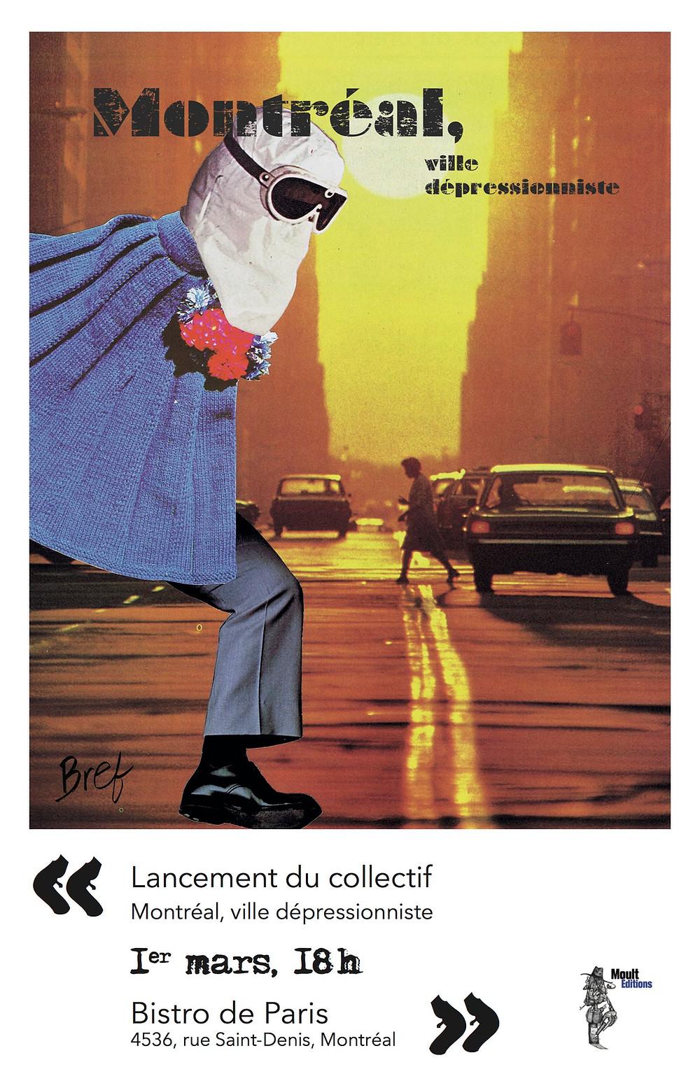 Lancement de Montréal, ville dépressionniste