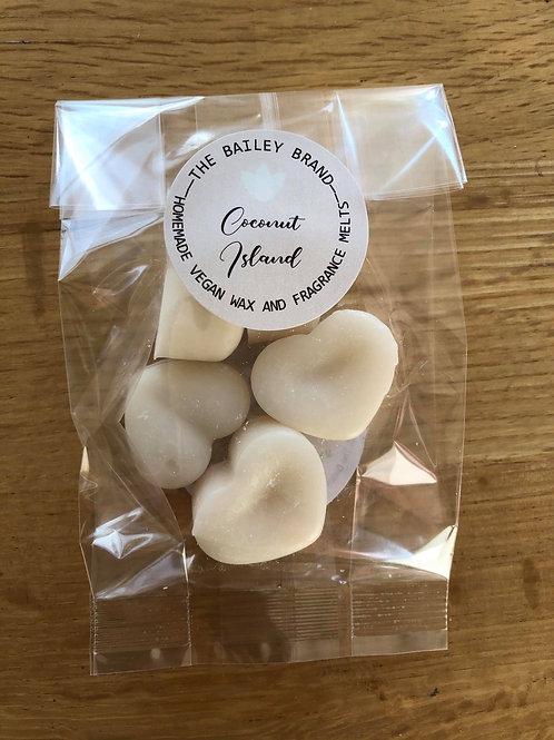 Coconut Island Samples (5 wax melts)