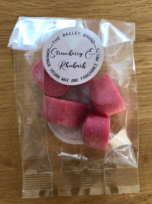 Strawberry & Rhubarb Samples (5 wax melts)