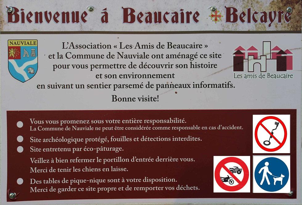 Chateau de Beaucaire (Nauviale 12) condi
