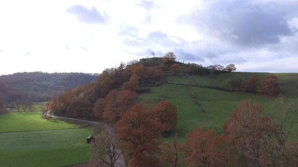 Chateau de Beaucaire en Rouergue (Nauvia