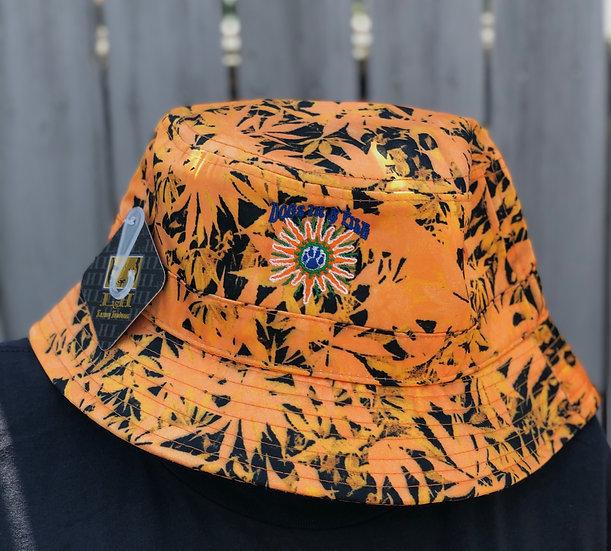 D.I.A.P Tropical Leaf Bucket Hat