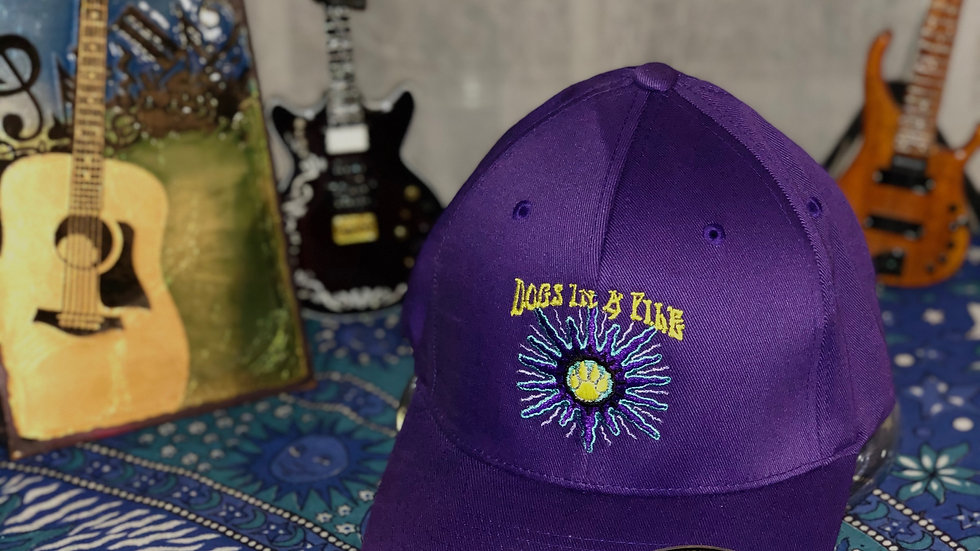 Royal Purple Fitted Cap