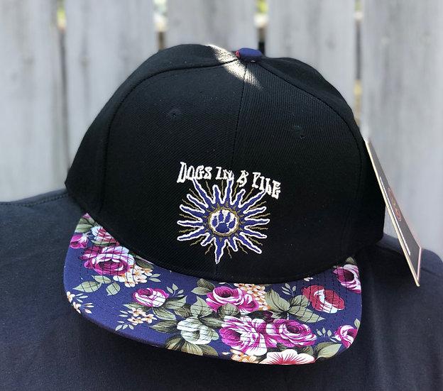 D.I.A.P Floral Brim Snapback