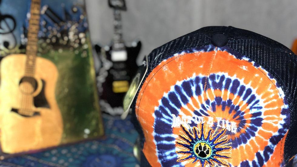 Tie Dye Mesh Snapback