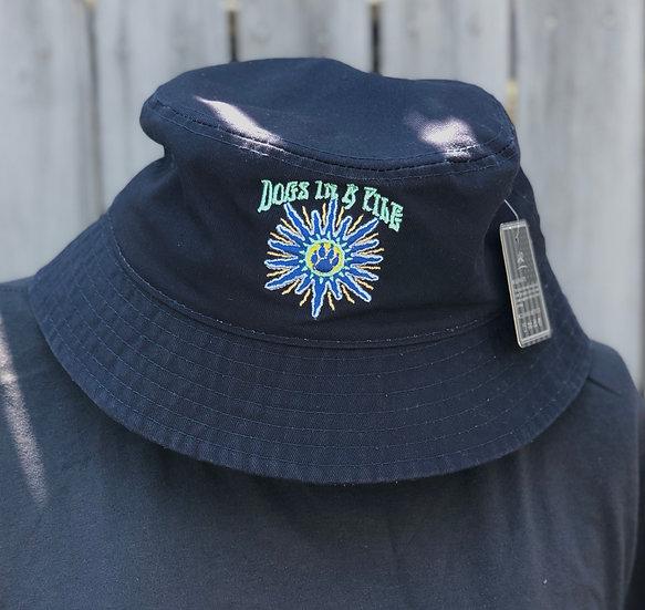 D.I.A.P Navy Blue Bucket Hat