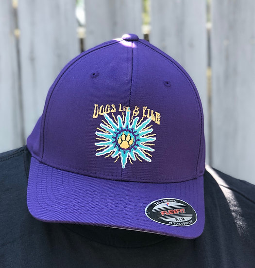 D.I.A.P Royal Purple Fitted Cap