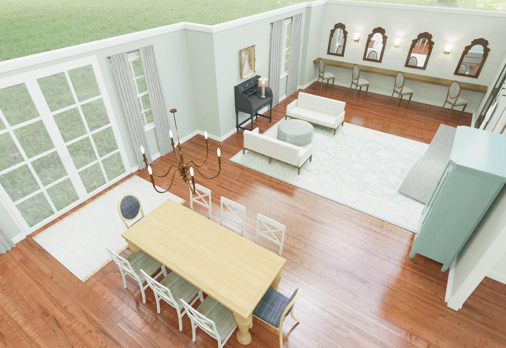 Webb Smith Interiors 3-D Renderings