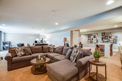 family room, sectional