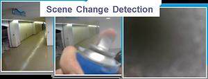 RFNet Scene Change Detection