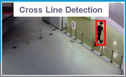 RFNet Cross Line Detection