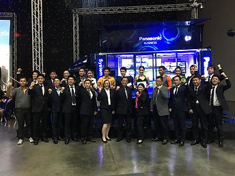 Panasonic Thailand Security Surveillance Event Exhibition, RFNet Industrial Wireless LAN and Transport Video Recorder, Security Camera.