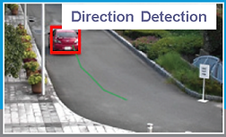 RFNet Vehicle Direction Detection